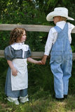Little cowboy 3 Stock Image
