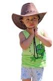 Little Cowboy Stock Photography