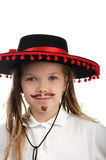 Little cowboy Royalty Free Stock Photo
