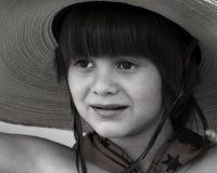 Little Cowboy. Portrait of a little boy as a cowboy Royalty Free Stock Photos