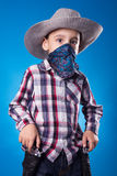 Little Cowboy Royalty Free Stock Image