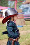 Little cowgirls. Royalty Free Stock Photography
