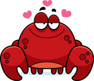 Little Crab in Love Stock Photo