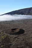 Little Crater in the Old Caldera of the Peak of The Furnace Royalty Free Stock Image