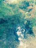 Little creek. Near ciwidey river Stock Photo