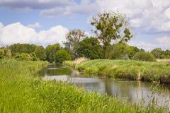 Little creek in Springtime, Pfefferfliess. Royalty Free Stock Image