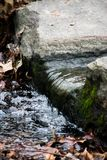 A small waterfall in Central Park Royalty Free Stock Photography