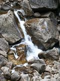 Little creek in Yosemite National Park. Found this tittle creek in Yosemite National Park, California, USA while hiking Stock Photography