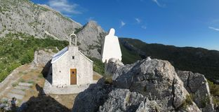 A little croatian chapel Royalty Free Stock Photography