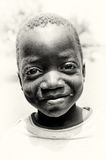 A  Little crying baby girl from Ghana Royalty Free Stock Photography