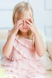 Little crying girl Royalty Free Stock Photography