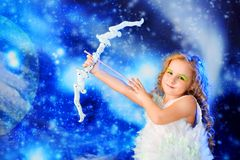 Little cupid Royalty Free Stock Photo