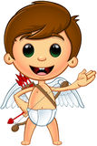 Little Cupid Character vector illustration