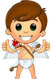 Little Cupid Character stock illustration