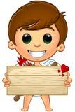Little Cupid Character stock illustration