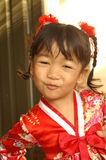 Little Cute Asian Girl Royalty Free Stock Photography