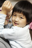 Little cute asian girl smile Stock Photos