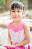 Little cute asian smile. And happy Royalty Free Stock Image