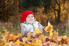 Little cute baby girl. Royalty Free Stock Photos