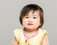 Little cute baby royalty free stock photos