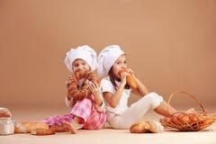 Little cute baker Royalty Free Stock Image
