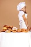 Little cute baker Royalty Free Stock Photos