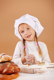 Little cute baker Royalty Free Stock Image