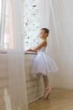 Little cute ballerina. Ballet. Stock Photos