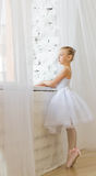 Little cute ballerina. Ballet. Royalty Free Stock Image