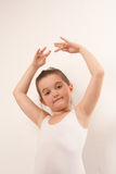 Little cute ballet dancer smiling at the camera 9 Royalty Free Stock Photos