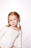 Little cute ballet girl Stock Images
