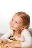 Little cute ballet girl Stock Image