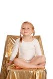 Little cute ballet girl Stock Photo