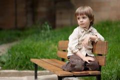 Little cute boy Stock Image