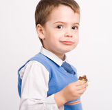 Little cute boy Royalty Free Stock Images