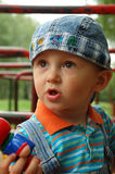 Little cute boy. The portrait of little cute boy Stock Images