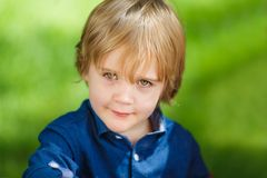 Little cute boy Royalty Free Stock Image