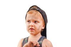 Little cute bully Stock Photography