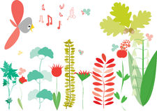 Little cute garden Royalty Free Stock Images