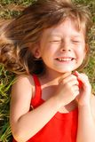 Little cute girl Stock Images