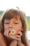 Little cute girl Royalty Free Stock Photos
