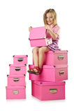 Little cute girl Stock Image