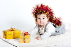 Little cute girl Stock Photography