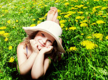 Little cute girl Royalty Free Stock Photo