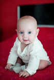 Little cute girl Stock Photography
