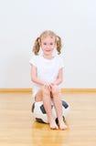 Little cute girl. Stock Image