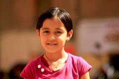 Little cute indian girl Royalty Free Stock Photos