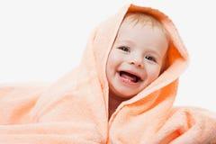 Little cute newborn baby child Stock Photos
