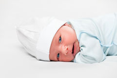 Little cute newborn baby child Royalty Free Stock Photography