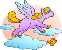 Little cute Pegasus Royalty Free Stock Image